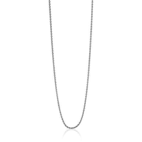 Zinzi Jewels 925 Sterling Zilveren Ketting ZILC-P42 (Lengte: 42.00-45.00 cm)