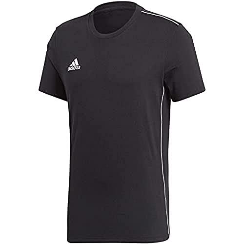 adidas Unisex-Child CORE18 Tee Y T-Shirt, Black, 1314