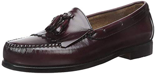 G.H. Bass & Co. Men's Layton Kiltie Tassel Loafer,Burgundy,10.5 B US