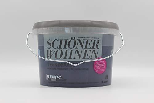 2x1L Schöner Wohnen Trendfarben, Grape matt (2, Grape)