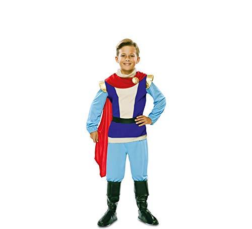 Costume da Principe Azzurro da Favola per bambino T-01(5/6 anni)