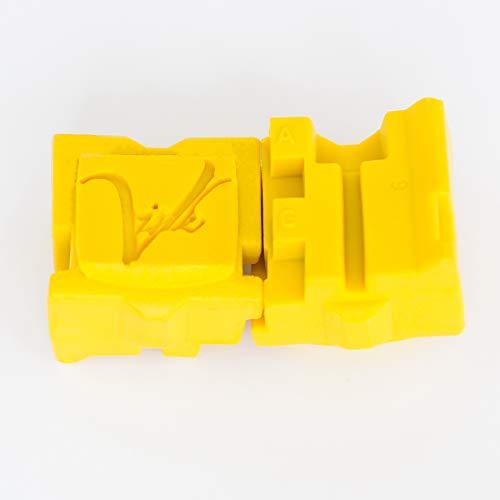 Viridel Ink; for Xerox ColorQube 8570 & 8580 (Yellow, 2-Pk Retail)