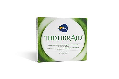 THD FIBRAID-INTESTINO PIGRO Integratore Alimentare Facilita Regolarizza TRANSITO INTESTINALE Equilibra la flora batterica Supporta il Sistema Immunitario 10 Bustine Monodose con Psillio Fibre Zinco