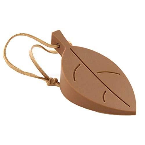Aohua goede siliconen bladeren ontwerp deurstop stopper Guard Baby veiligheid Protector voor thuis Decoratie(geen kleuren)