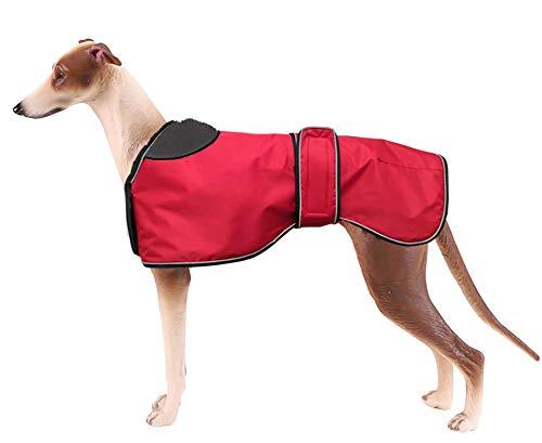 Morezi - Chaqueta Impermeable para Perro, Abrigo de Invierno con Forro Polar cálido, Ropa para Perro al Aire Libre con Bandas Ajustables para Perro Mediano y Grande