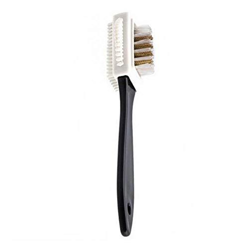 CKY Schuhbürste Schwarz Reinigungsbürste für Wildleder Nubuk Stiefel Schuhe Form Schuhreiniger Stiefel Lederschuhe Reiniger, Mischfarbe