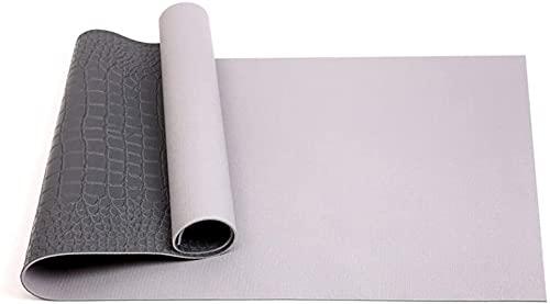 LSLS Esterilla De Yoga 6mm Ampliación de alfombras de Yoga Professional Skid Ejercicio Mat Yoga Fitness Mat Esterilla Fitness (Color : B)