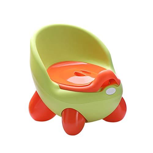 QFbp Pot pour Enfants, siège WC avec Combinaison 3 pièces, Amovible, Stable et sûr 3 Couleurs Vert
