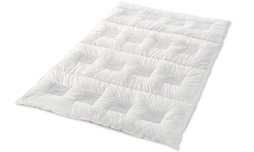 Climabalance Comfort Medium Zudecke, Baumwolle, Weiß, 135 x 200 cm