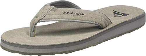 Quiksilver Carver Nubuck, Scarpe da Spiaggia e Piscina Uomo, Nero (Grey/Grey/Black Xssk), 43 EU