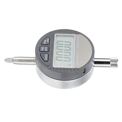 Indicador de cuadrante Digital Calibrador, medición precisa Indicador de cuadrante Digital de 0-12.7 mm, Pantalla LCD para producción Industrial Varias Medidas