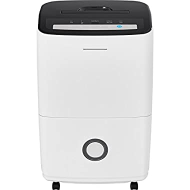 Frigidaire Dehumidifier with Built-in Pump in White, 70 Pint