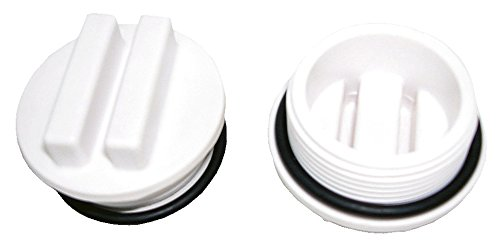 Steinbach Tapón de Invierno para Skimmer, Incluye Junta tórica, 1-1/2 AG, Color Blanco