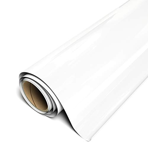 Siser EasyWeed HTV 11.8' x 3ft Roll - Iron on Heat Transfer Vinyl (White)