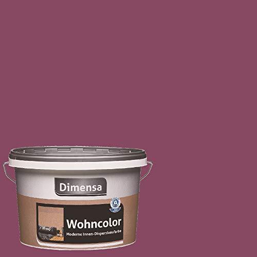 Dimensa Wohncolor bunte Wandfarbe beere lila violett 2,5 Liter