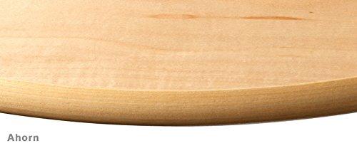 Eckregal / Wandregal Design | verdeckte Befestigung | 2 Größen | 6 Dekore | 400x400x22 mm - Ahorn