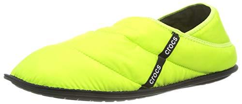Crocs Unisex-Erwachsene Neo Puff Slipper Hausschuhe, Grün (Lime Punch), 43-44