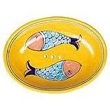 Tranquillo Seifenschale Fische' gelb