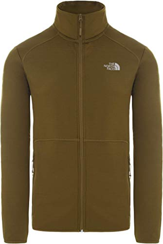 The North Face M Quest FZ JKT FIR Green APP_Outerwear Homme, FR : S (Taille Fabricant : S)