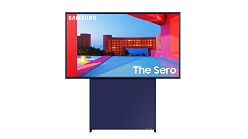 Samsung 43' Class The Sero QLED LS05 Series TV - 4K UHD Quantum HDR Smart TV with Alexa Built-in (QN43LS05TAFXZA, 2020 Model)