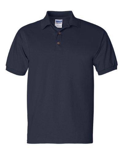 Gildan Mens 6.1 oz. Ultra Cotton Jersey Polo G280 -NAVY M