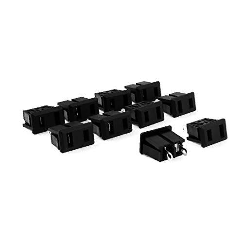X-DREE AC 125V 15A alto rendimiento Tipo de Convertidor esencial Adaptador de corriente Bie_n hecho hembra de enchufe hembra de Estados Unidos 10 piezas(845-3f-f4-ca8)