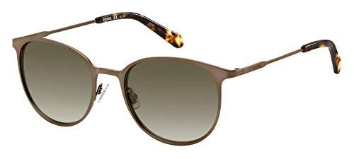Fossil Fos 3084/S Gafas de sol, Multicolor (Mtt Brown), 53 para Mujer