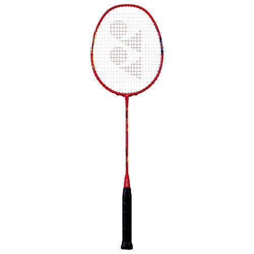 Yonex Duora 77 Graphite Strung Badminton Racquet (Red/White) with...