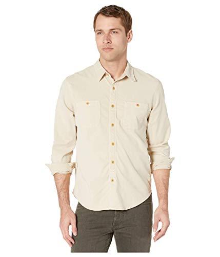 Lucky Brand - Camicia da lavoro a maniche lunghe, con bottoni e bottoni - blu - M