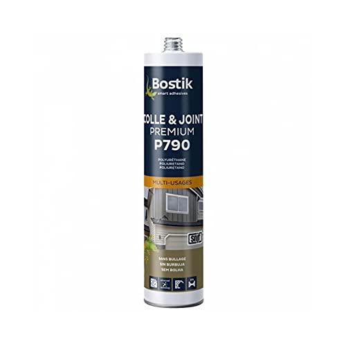 Colle & Joint Premium Mastic Polyuréthane Multi-Usages, 300 ml, Noir