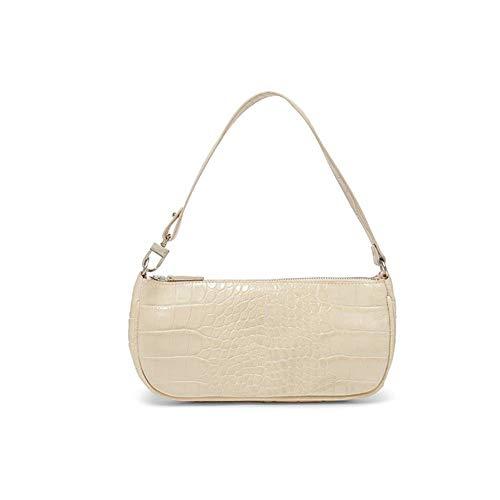 Women Clutch Bag,Retro Pattern Bag for Women,Clutch Purse for Women,Shoulder Bag Handbags for Party Wedding (one size, Milky White)