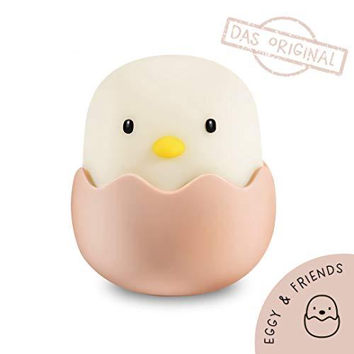 Eggy Egg LED Nachtlicht für Kinder dimmbar mit Akku - das Original - Schlaflicht - Schlummerlicht