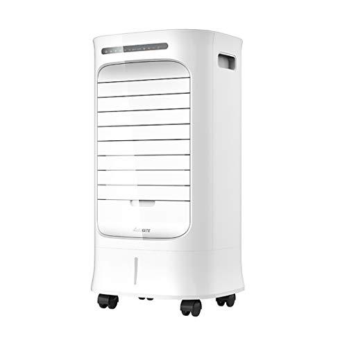 Verdampingskoeler, draagbare luchtkoeler, elektrische ventilator en luchtbevochtiger met afstandsbediening, airconditioning met waterreservoir van 7 liter, voor thuis en in huis.