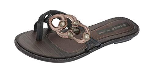 Grendha Magia Sandal Damen Flip Flops/Sandalen - black-Black-39