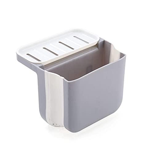 FXBFAG Stainless Steel Colander Retractable Sink Strainer and Strainer Basket Over The Sink Food Strainer Sponge Soap Holder for Fruit Dishwashing Baskets Strainers (Color : Gray)