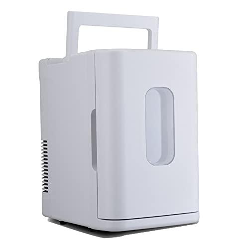 Mini refrigerador mini refrigerador de 10 litros - Acero inoxidable White