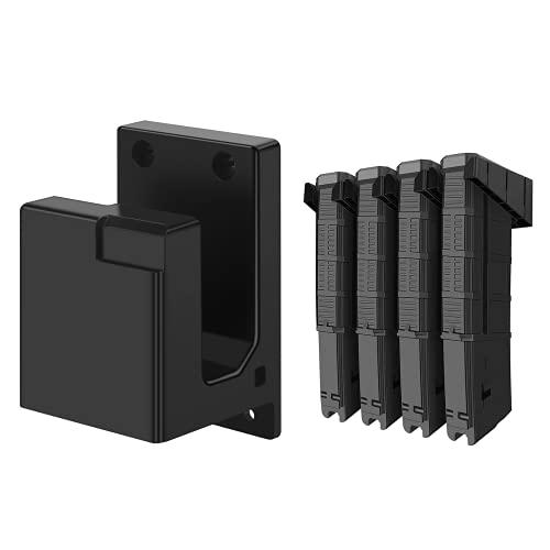 Apical Life AR-15 Gun Rack Wall Mount,4 PCS Standard PMAG...