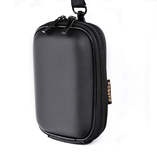 Snug Fit Black Camera Case Compatible with Canon PowerShot ELPH 180 190 360 HS SX620 A2300 IXUS 285 180 G9X,Sony Cyber-Shot DSC-W830 W810 W800 WX220 HX80 HX90,Nikon Coolpix A10 S7000 W100