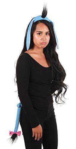 elope Winnie the Pooh Eeyore Costume Ears Headband and Tail