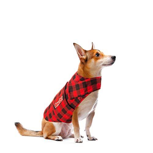 BINGPET Chaleco calmante para la ansiedad del Perro, calmante, Anti ansiedad y Alivio del estrés, Camisa para truenos, Fuegos Artificiales