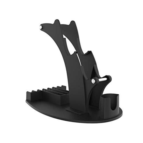 xiaowang Game-Controller-Halterung, einzigartiges und stabiles Design, Game-Aufbewahrung, Controller-Ständer, multifunktionale Fernbedienung, kompatibel für PS5/PS4/Xbox
