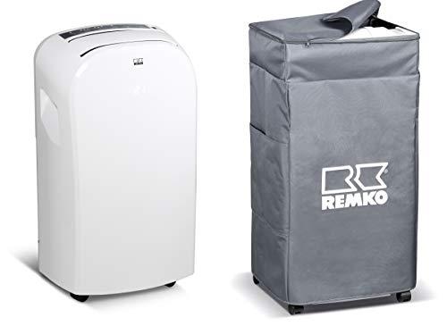 REMKO MKT 255 Eco - Lokales Raumklimagerät in Kompakt-Ausführung EEK: A (Weiß inkl. Schutzhülle)