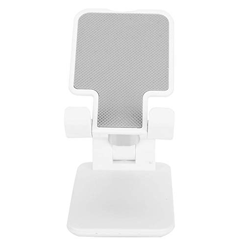 SALUTUY Support, Support de téléphone Portable de Petite Taille et Support de Tablette Pliable léger pour Tablette de téléphone Portable(Blanche)