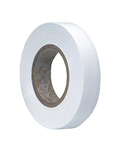 Spro Cinta adhesiva para mango de raqueta de tenis, squash o bádminton, rollo de 12 mm x 20 m, blanco