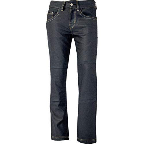 Motorcycle Bull-It SR4 Slate Drainpipe Jeans Ladies 31 Leg Blue 14