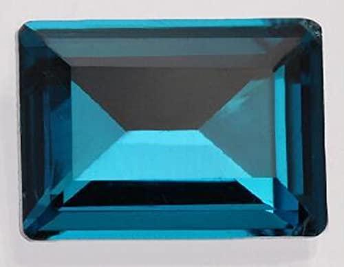 Pegamento de 13 * 18 mm en cristales Strass Beads Ropa Bolsas Accesorios Decoraciones de tela ZZ034-azul pavo real