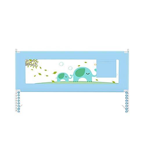 AABBC Sponda del Letto per Bambini, parapetto per Letto con Sollevamento Verticale Portatile Recinzione per Bambini Regolabile in Altezza a grandezza Naturale - Rinforzo Ispessito (Colore: A200x68