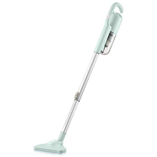 Draadloze accustofzuiger voor huishoudelijk gebruik, draadloze, oplaadbare grote stofverzamelaar, accustofzuiger draadloos lichtgroen