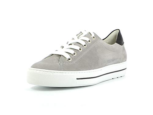 Paul Green Damen Sneaker 4741, Frauen Low-Top Sneaker, sportschuh Plateau-Sohle weibliche Ladies feminin elegant Women,Cloud/White,40 EU / 6.5 UK