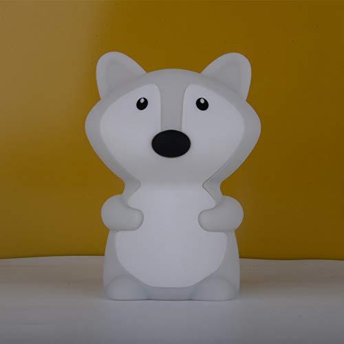 YCEOT Luz nocturna LED con diseño de dibujos animados, de silicona, para niños y bebés, regalo